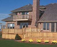 Ipe as a deck wood pros and cons of ipe deck material for Cedar decks pros and cons