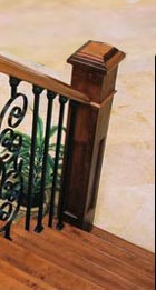 Hardwood Flooring, Stairs, Railings